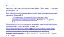 Сборник тезисов III Всероссийского съезда онкопсихологов 2011